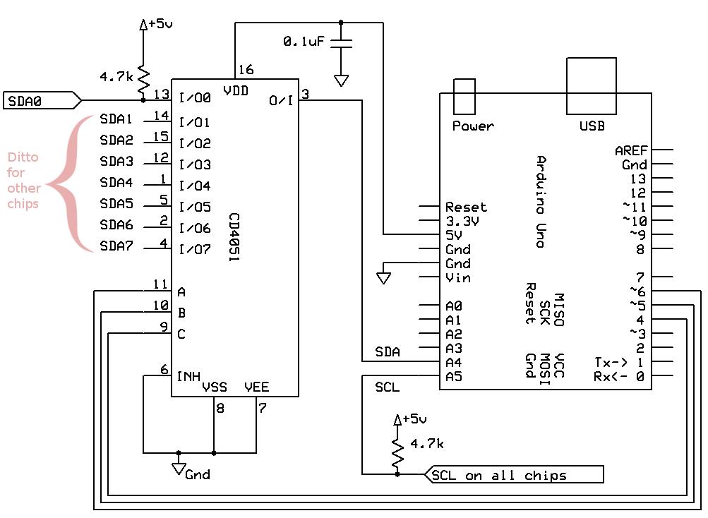 Gammon Forum Electronics Microprocessors I2c Two